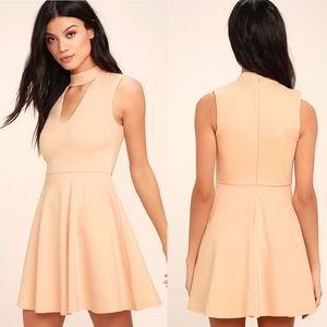 Lulu's | Loving You is Easy Skater Dress